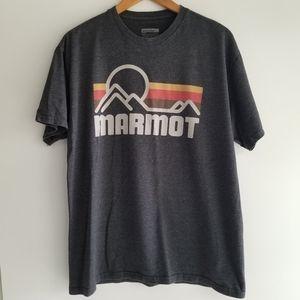 Marmot grey tshirt